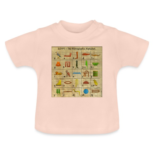 The Hieroglyphic Alphabet - Baby T-Shirt