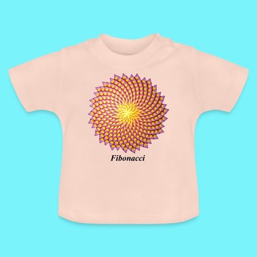 Fibonacci flower - Baby T-Shirt