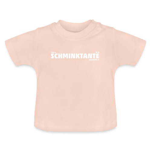 supatrüfö SCHMINKTANTE - Baby T-Shirt
