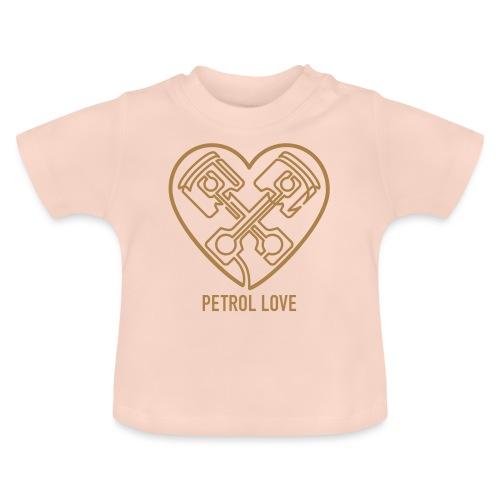 »One Line« Petrol Love - Baby T-Shirt