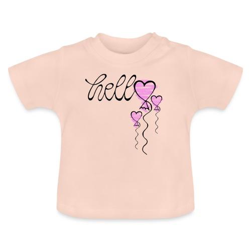Hello Herzballon - Baby T-Shirt