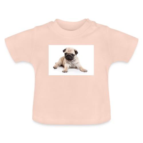 mopshond afdruk/print - Baby T-shirt