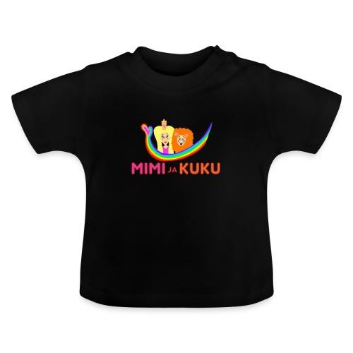 Mimi ja Kuku- sateenkaarilogolla - Vauvan t-paita