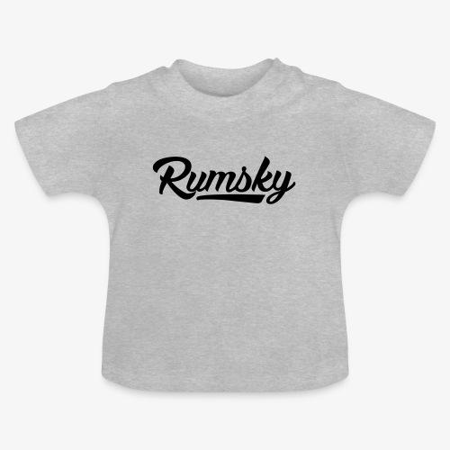 Rumsky-logo - Baby T-shirt