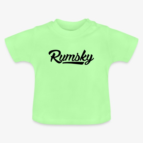 Rumsky-logo - Baby T-shirt