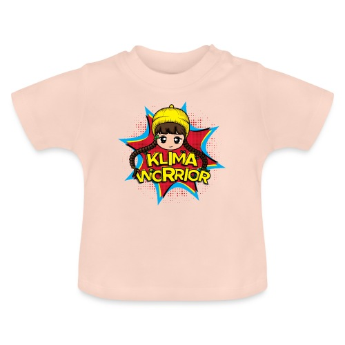 Klima, Climate, Worrior, Klimawandel - Baby T-Shirt