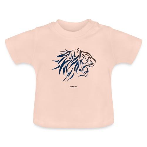 tiger vector - Camiseta bebé