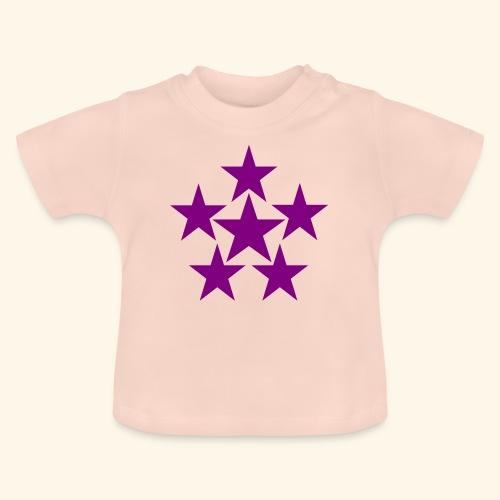 5 STAR lilla - Baby T-Shirt