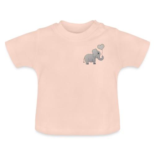 LackyElephant - Baby T-Shirt