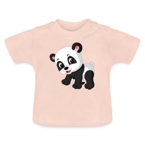 Panda Mignon - T-shirt Bébé