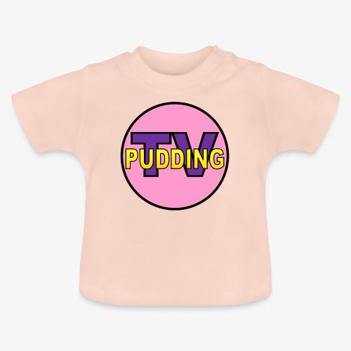 Pudding-TV Logo - Baby-T-skjorte