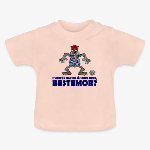 Rødhette og ulven - Baby-T-skjorte