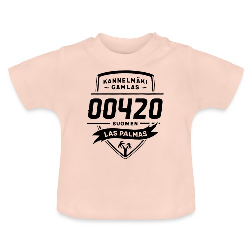 Kannelmäki - Las Palmas - Vauvan t-paita
