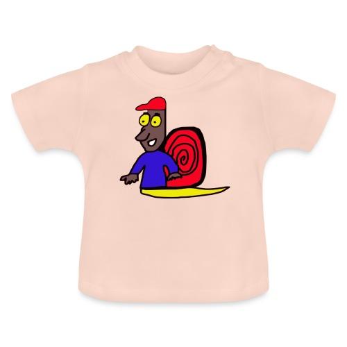 schnecke Schnecke Tier - Baby T-Shirt