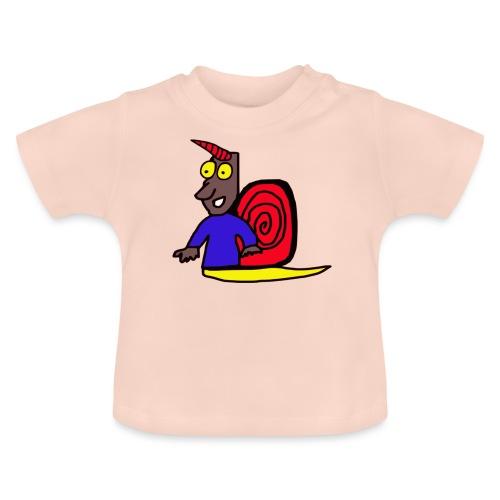 schnecke einhorn niedlich - Baby T-Shirt