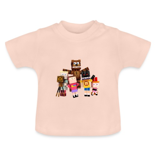 Withered Bonnie Productions - Meet The Gang - Baby T-Shirt