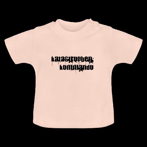 KK Logo schwarz - Baby T-Shirt