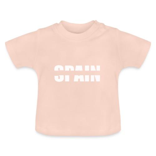 Spain España patriots blanca - Camiseta bebé