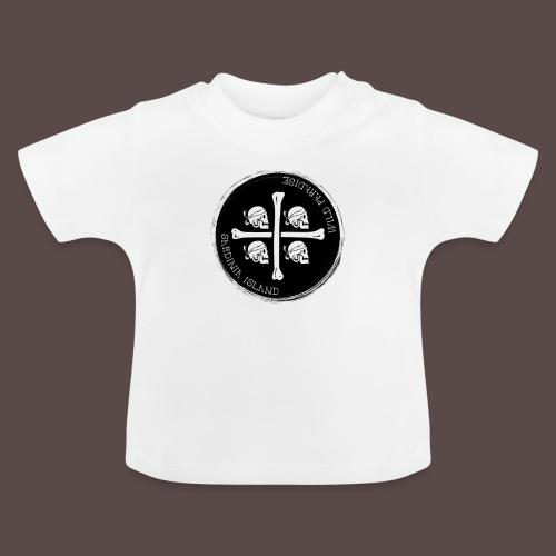 Sardegna Quattro Mori Pirata - Maglietta per neonato