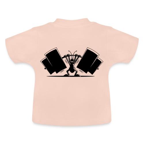 Power Ant - Baby T-Shirt