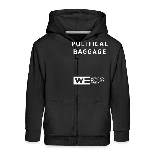 Political Baggage - Kids' Premium Zip Hoodie