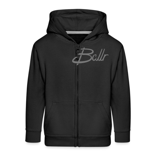 Ballr - Kids' Premium Zip Hoodie