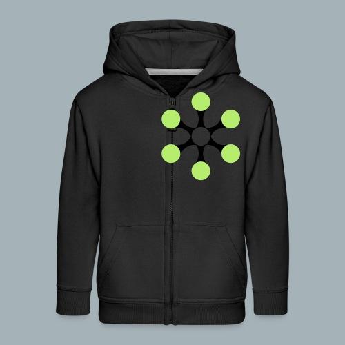 Star Bio T-shirt - Kinderen Premium jas met capuchon
