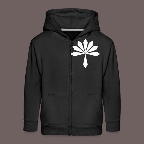 GBIGBO zjebeezjeboo - Rock - Fleur [FlexPrint] - Veste à capuche Premium Enfant
