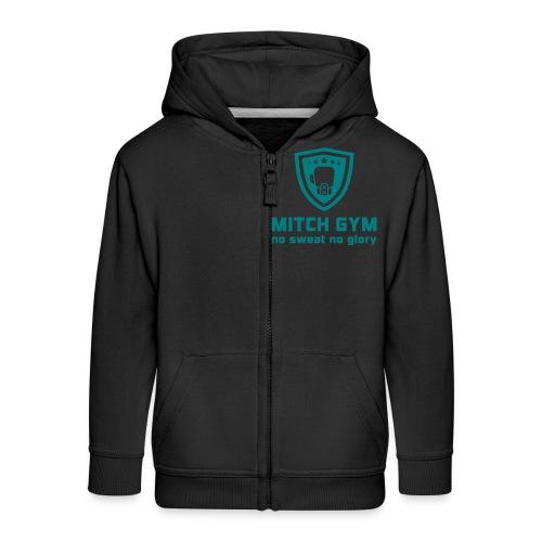Logo_Mitch_Gym edit - Kinderen Premium jas met capuchon