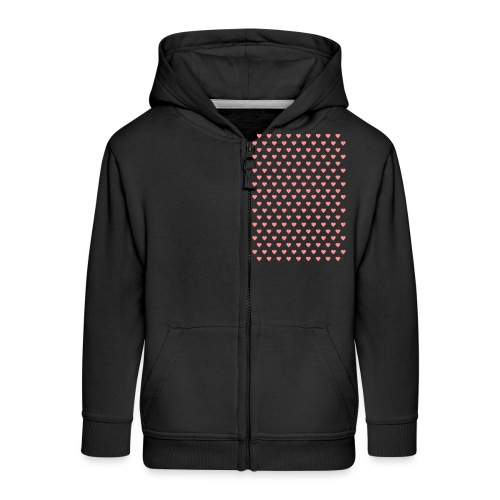 wwwww - Kids' Premium Zip Hoodie