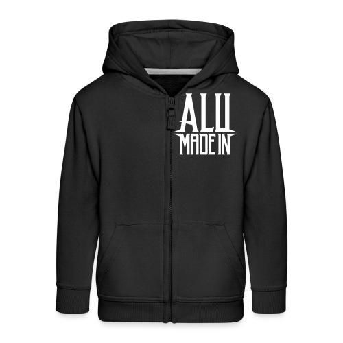 logo_alumadein_vecto_blan - Veste à capuche Premium Enfant