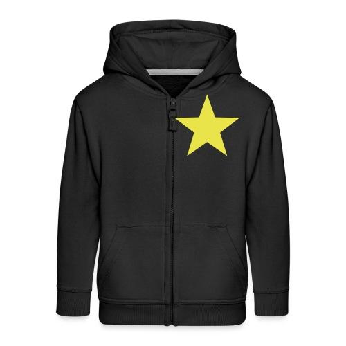 étoile couleurs modifia.. - Veste à capuche Premium Enfant