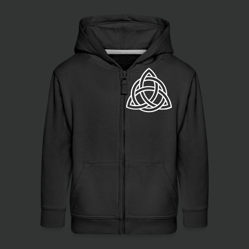 Celtic Knot — Celtic Circle - Kids' Premium Zip Hoodie
