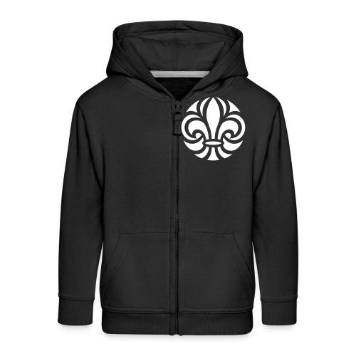 Scouterna-symbol_white - Premium-Luvjacka barn