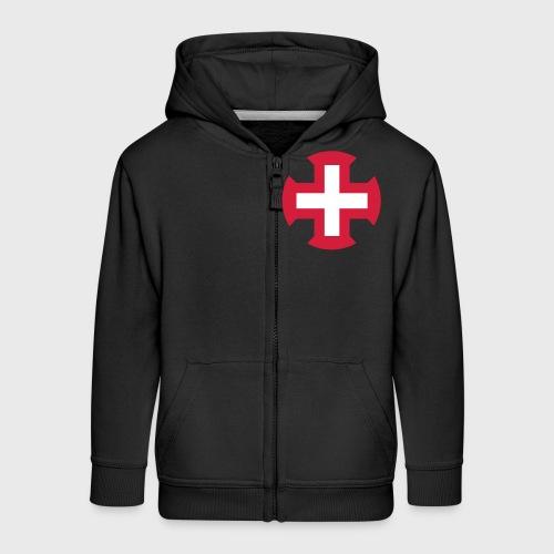Croix du Portugal - Veste à capuche Premium Enfant