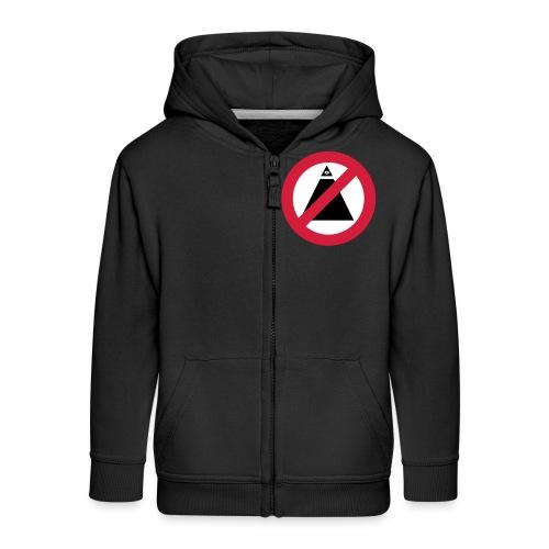 No-Illuminati - Veste à capuche Premium Enfant
