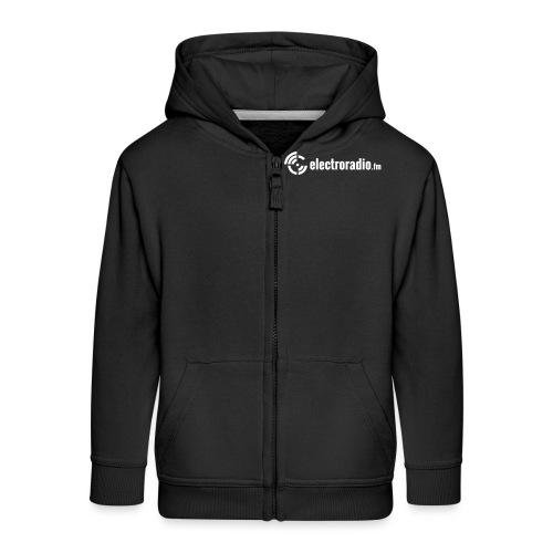 electroradio.fm - Kids' Premium Hooded Jacket