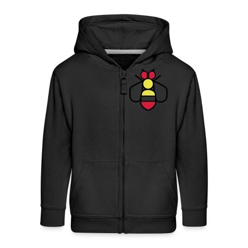 Bee - Kids' Premium Zip Hoodie