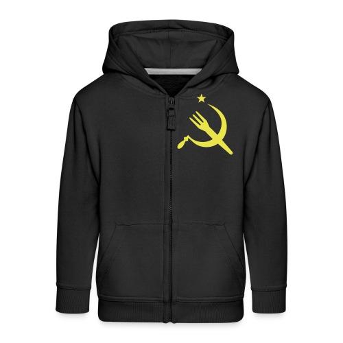 Fourchette en sikkel - USSR - belgië - belgique - Veste à capuche Premium Enfant