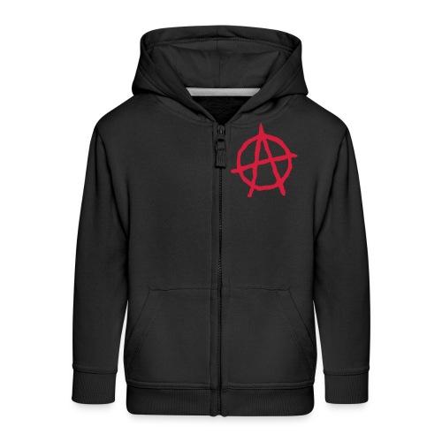 Anarchy Symbol - Kids' Premium Zip Hoodie