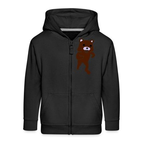 new Idea 15142400 - Rozpinana bluza dziecięca z kapturem Premium