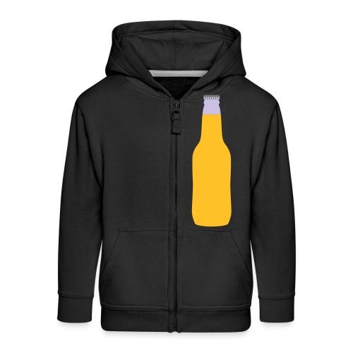 Bierflasche - Kinder Premium Kapuzenjacke