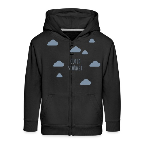 Cloud Storage - Kinder Premium Kapuzenjacke