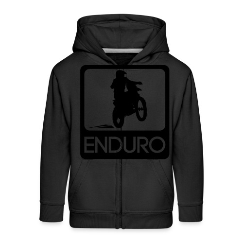 Enduro Rider - Kinder Premium Kapuzenjacke
