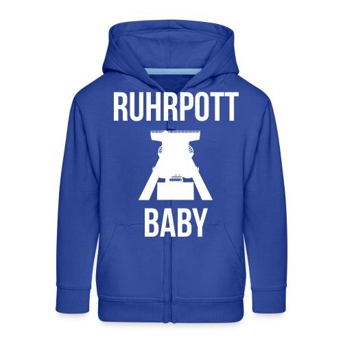 RUHRPOTT BABY - Deine Ruhrpott Stadt - Kinder Premium Kapuzenjacke