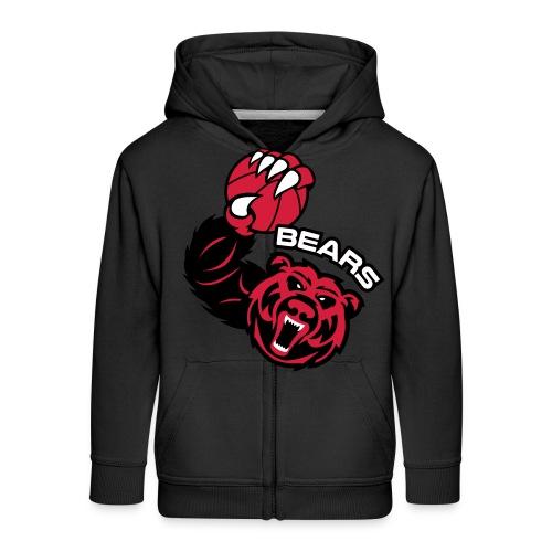 Bears Basketball - Veste à capuche Premium Enfant