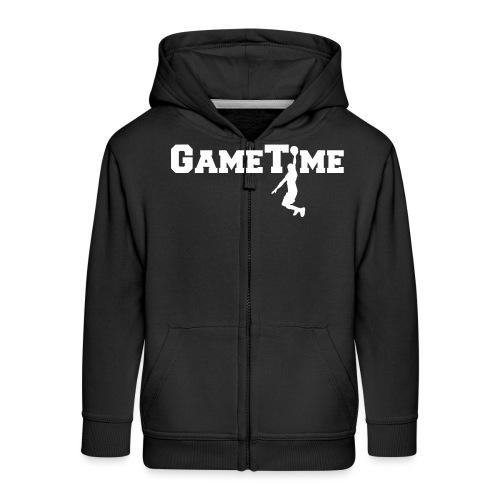 gametimeplayer - Kinderen Premium jas met capuchon