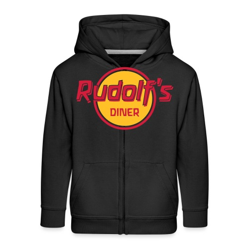 Rudolf s Diner - Kinder Premium Kapuzenjacke
