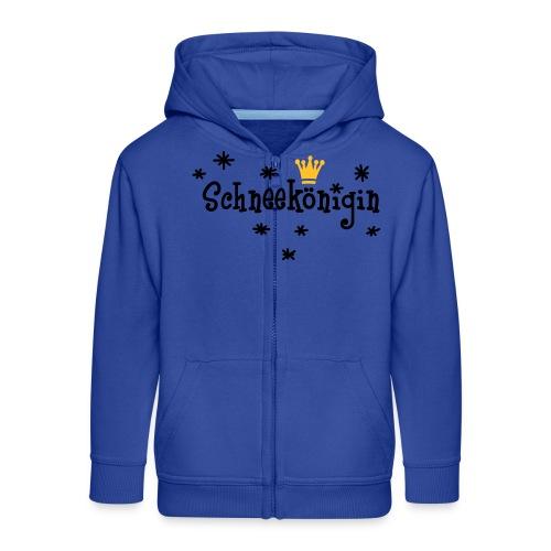 Schneekönigin, Apres Ski Shirt - Kinder Premium Kapuzenjacke