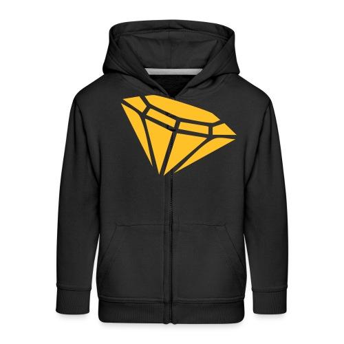 Diamond - Kids' Premium Zip Hoodie